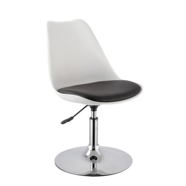 На фото: Барный стул Aron (27904), Барні стільці і столи Home4You, каталог, ціна