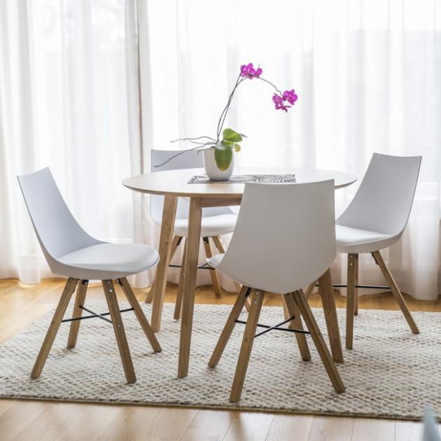 На фото: Стілець Seiko (37021), Стільці для дому Home4You, каталог, ціна