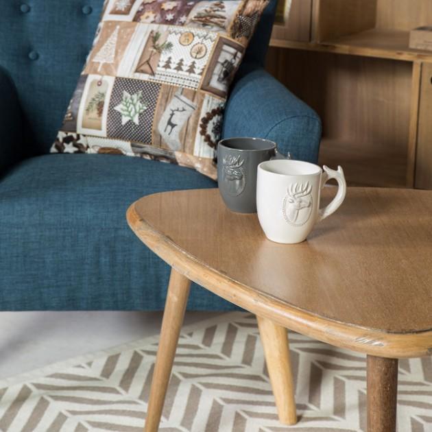 На фото: Кавовий столик Vespa (75413), Журнальні столики Home4You, каталог, ціна