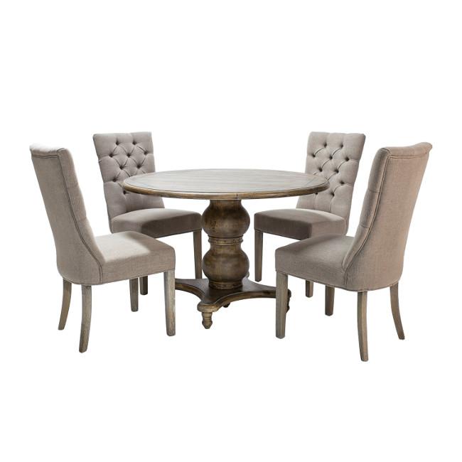 На фото: Обідній комплект Watson (k11950), Столові комплекти Home4You, каталог, ціна