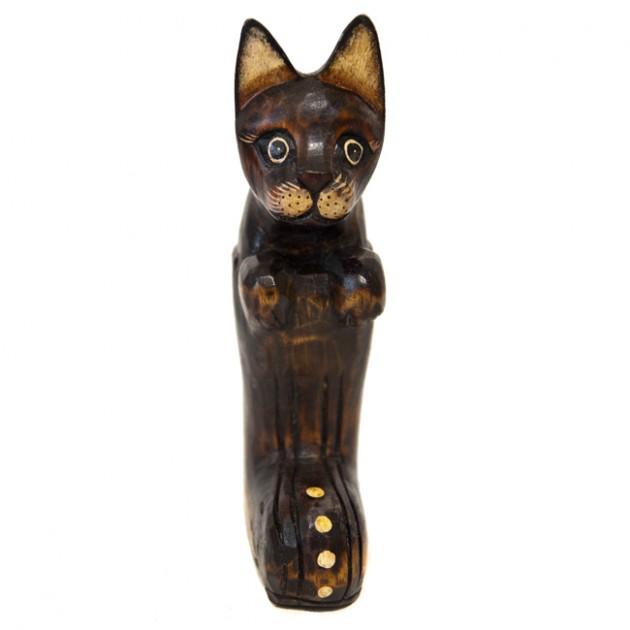 На фото: Кіт в Чоботі (700114), Декоративні фігурки Вілла Ванілла, каталог, ціна