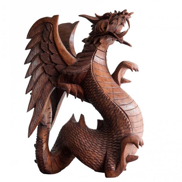 На фото: Крылатый Дракон 40 см (700408),  Вілла Ванілла, каталог, ціна