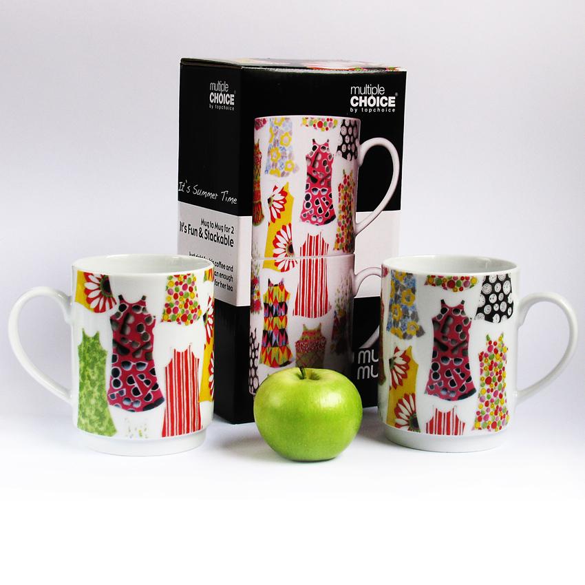 На фото: Набор чашок Літо (710013), Чашки та кружки TopChoice, каталог, ціна
