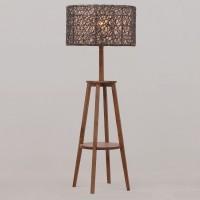 На фото: Торшер тиковий Knight (300300), Декоративні світильники Вілла Ванілла, каталог, ціна