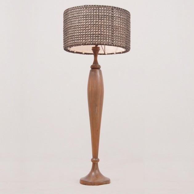На фото: Торшер тиковий Queen (300305), Декоративні світильники Вілла Ванілла, каталог, ціна