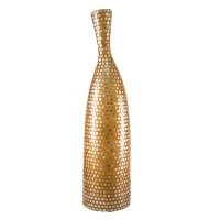 На фото: Напольна лампа Aro Золота мушля M (400005), Декоративні світильники Вілла Ванілла, каталог, ціна