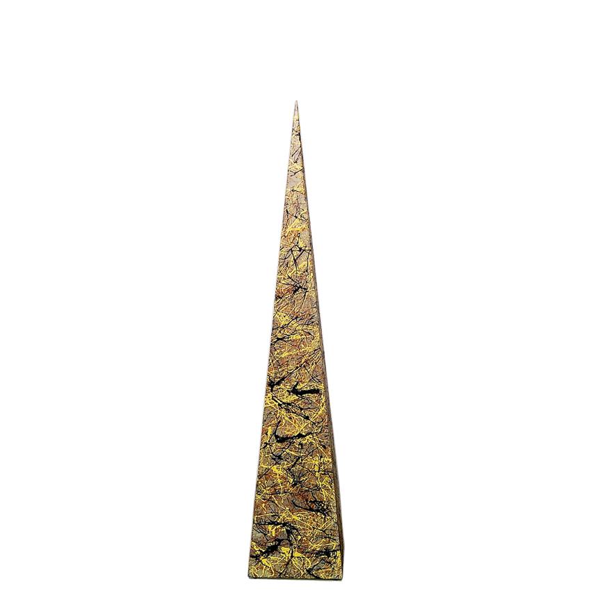 На фото: Напольна лампа Piramida M Бризки Осені (400063), Декоративні світильники Вілла Ванілла, каталог, ціна