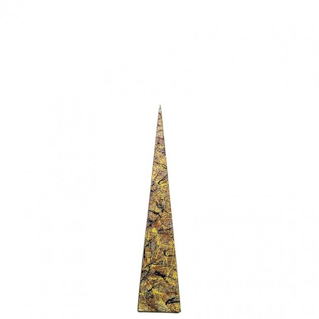На фото: Напольна лампа Piramida S Бризки Осені (400064), Декоративні світильники Вілла Ванілла, каталог, ціна