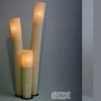 На фото: Напольна лампа Pisa S (400060), Декоративні світильники Вілла Ванілла, каталог, ціна