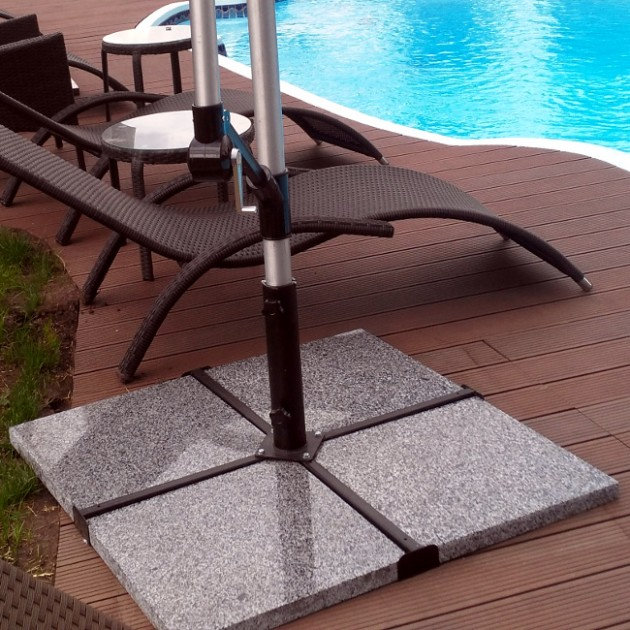 На фото: Обтяжувачі для парасолі (11786), Підставки для парасоль Garden4You, каталог, ціна