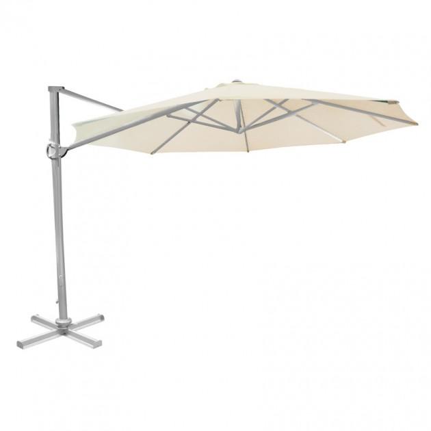 На фото: Кругла парасоля Roma D3 Beige (19451), Консольні парасолі Garden4You, каталог, ціна