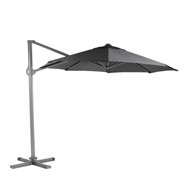 На фото: Кругла парасоля Roma D3 Dark Grey (19435), Консольні парасолі Garden4You, каталог, ціна