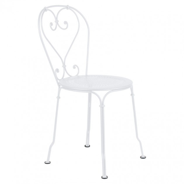 На фото: Садовий стілець 1900 (220101), Стілець 1900 Fermob, каталог, ціна