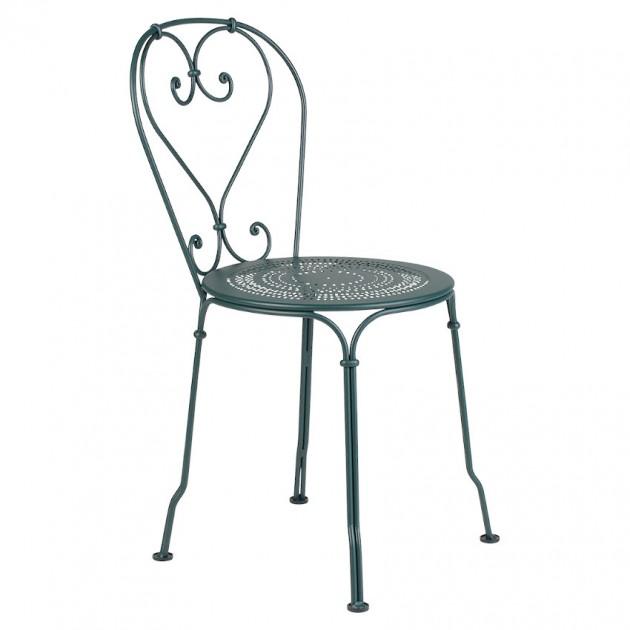 На фото: Садовий стілець 1900 (220102), Стілець 1900 Fermob, каталог, ціна