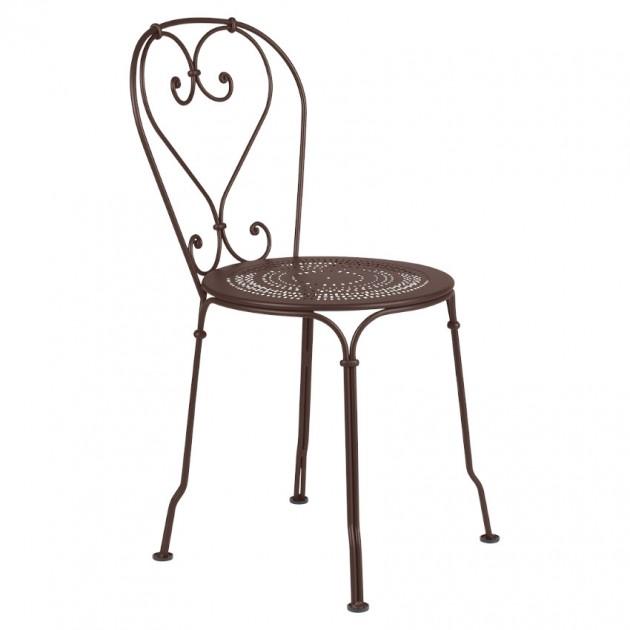 На фото: Садовий стілець 1900 (220109), Стілець 1900 Fermob, каталог, ціна