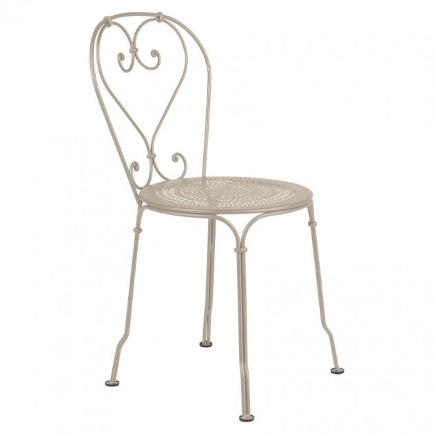 На фото: Садовий стілець 1900 (220114), Стілець 1900 Fermob, каталог, ціна