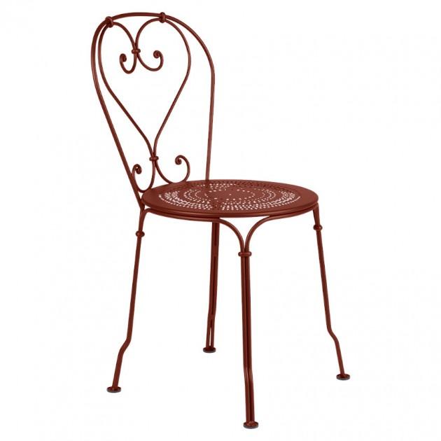 На фото: Садовий стілець 1900 (220120), Стілець 1900 Fermob, каталог, ціна