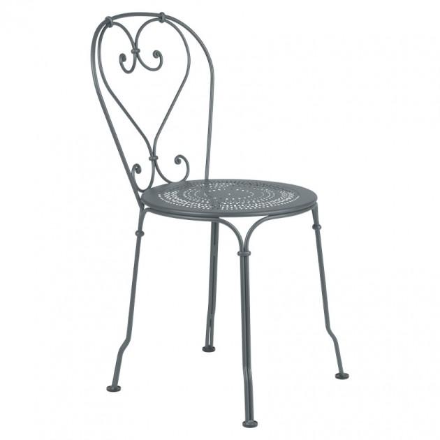 На фото: Садовий стілець 1900 (220126), Стілець 1900 Fermob, каталог, ціна