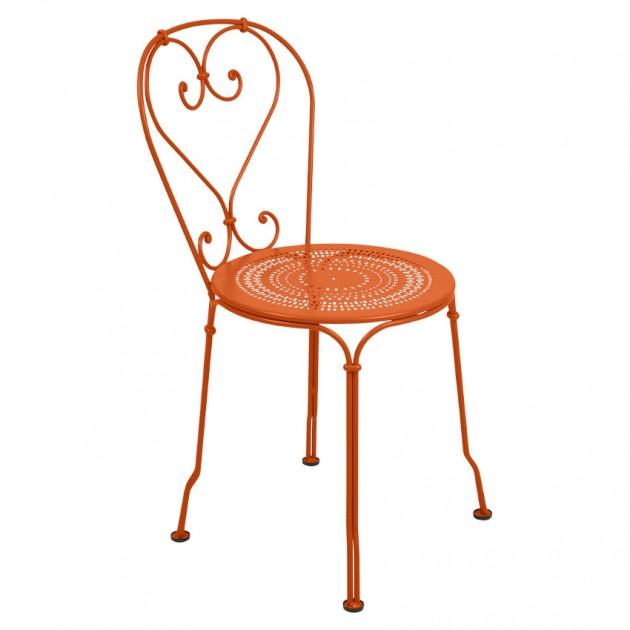 На фото: Садовий стілець 1900 (220127), Стілець 1900 Fermob, каталог, ціна