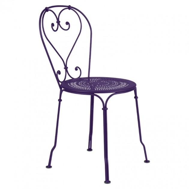 На фото: Садовий стілець 1900 (220128), Стілець 1900 Fermob, каталог, ціна