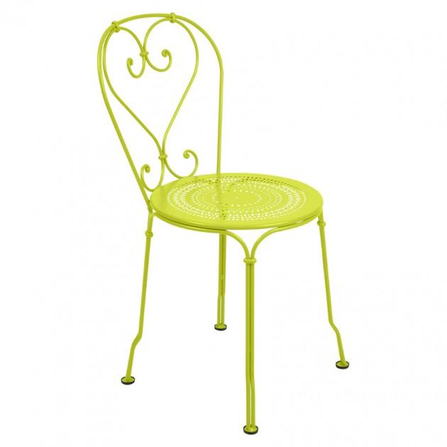 На фото: Садовий стілець 1900 (220129), Стілець 1900 Fermob, каталог, ціна