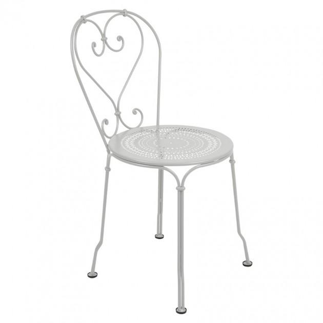 На фото: Садовий стілець 1900 (220138), Стілець 1900 Fermob, каталог, ціна