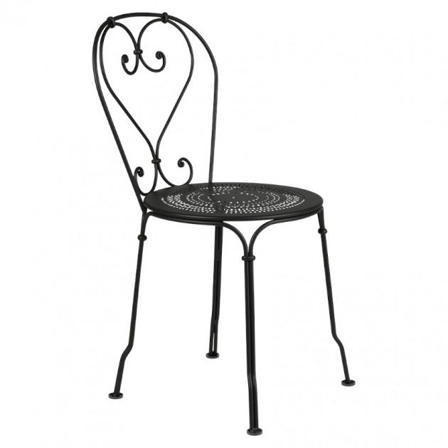 На фото: Садовий стілець 1900 (220142), Стілець 1900 Fermob, каталог, ціна