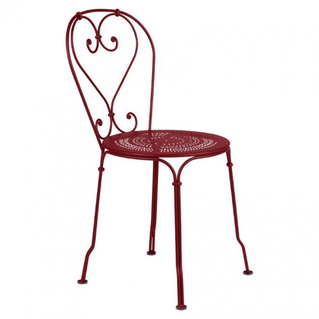 На фото: Садовий стілець 1900 (220143), Стілець 1900 Fermob, каталог, ціна