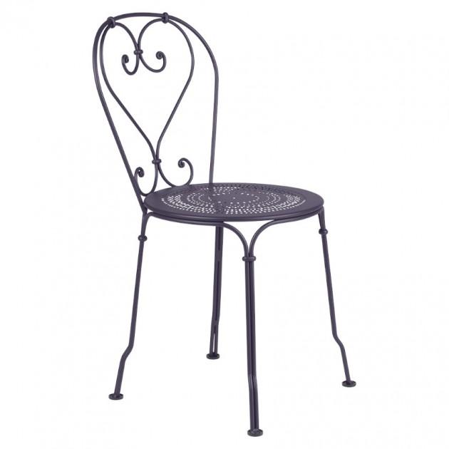 На фото: Садовий стілець 1900 (220144), Стілець 1900 Fermob, каталог, ціна