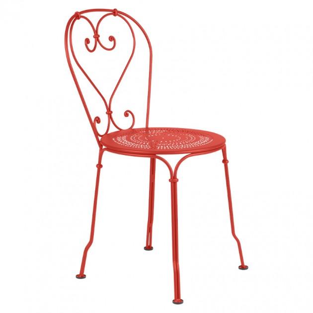 На фото: Садовий стілець 1900 (220145), Стілець 1900 Fermob, каталог, ціна