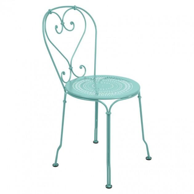 На фото: Садовий стілець 1900 (220146), Стілець 1900 Fermob, каталог, ціна
