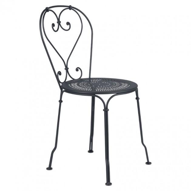На фото: Садовий стілець 1900 (220147), Стілець 1900 Fermob, каталог, ціна