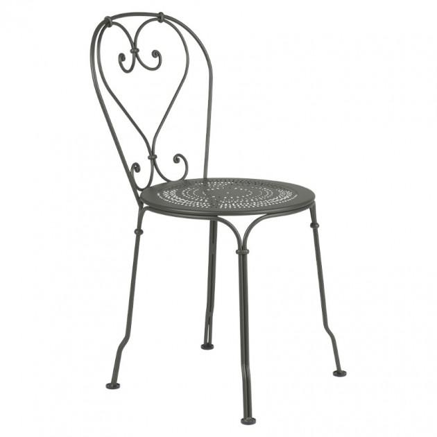 На фото: Садовий стілець 1900 (220148), Стілець 1900 Fermob, каталог, ціна