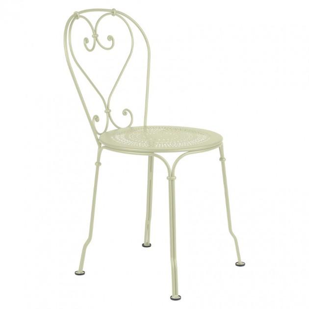 На фото: Садовий стілець 1900 (220165), Стілець 1900 Fermob, каталог, ціна