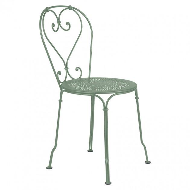 На фото: Садовий стілець 1900 (220182), Стілець 1900 Fermob, каталог, ціна