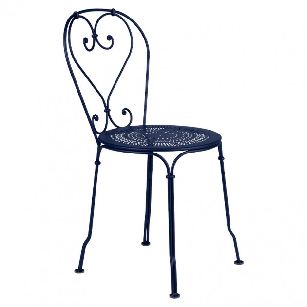 На фото: Садовий стілець 1900 (220192), Стілець 1900 Fermob, каталог, ціна