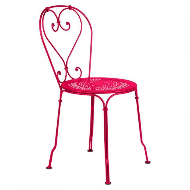 На фото: Садовий стілець 1900 (220193), Стілець 1900 Fermob, каталог, ціна