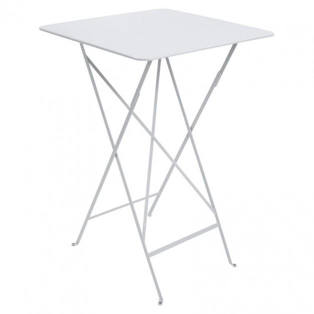 На фото: Барний стіл Bistro 0250 Cotton White (025001), Барний стіл Bistro Fermob, каталог, ціна