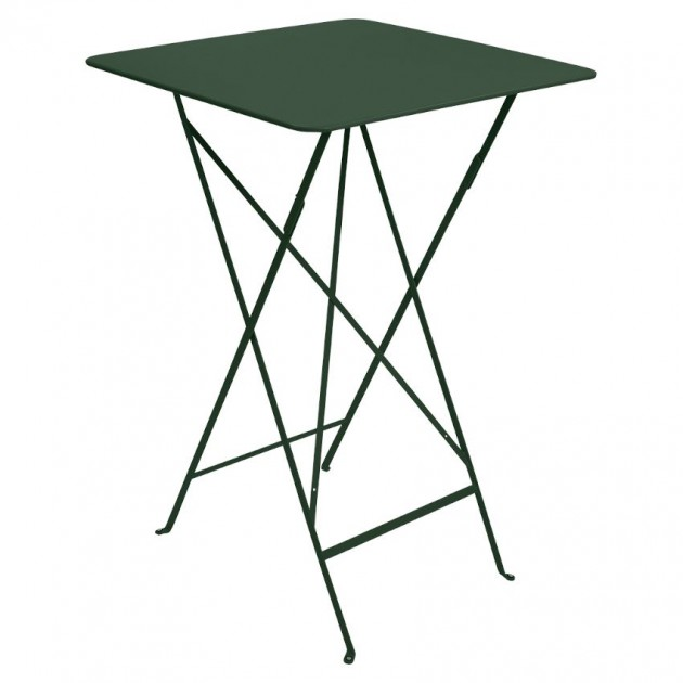На фото: Барний стіл Bistro 0250 Cedar Green (025002), Барні столи Fermob, каталог, ціна