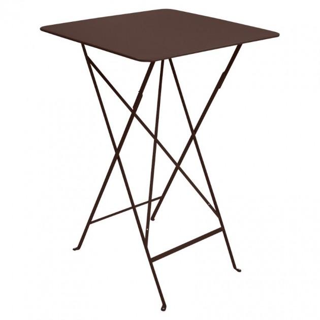 На фото: Барний стіл Bistro 0250 Russet (025009), Барні столи Fermob, каталог, ціна