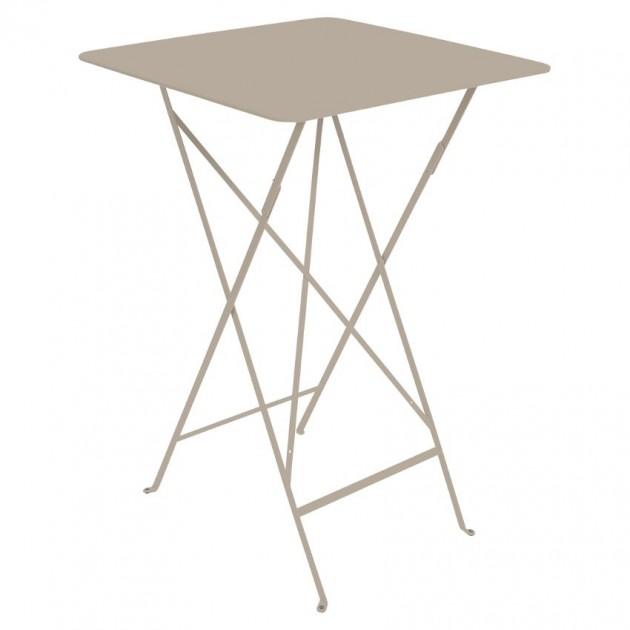 На фото: Барний стіл Bistro 0250 Nutmeg (025014), Барний стіл Bistro Fermob, каталог, ціна