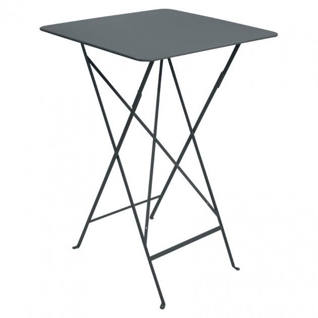 На фото: Барний стіл Bistro 0250 Storm Grey (025026), Барні столи Fermob, каталог, ціна