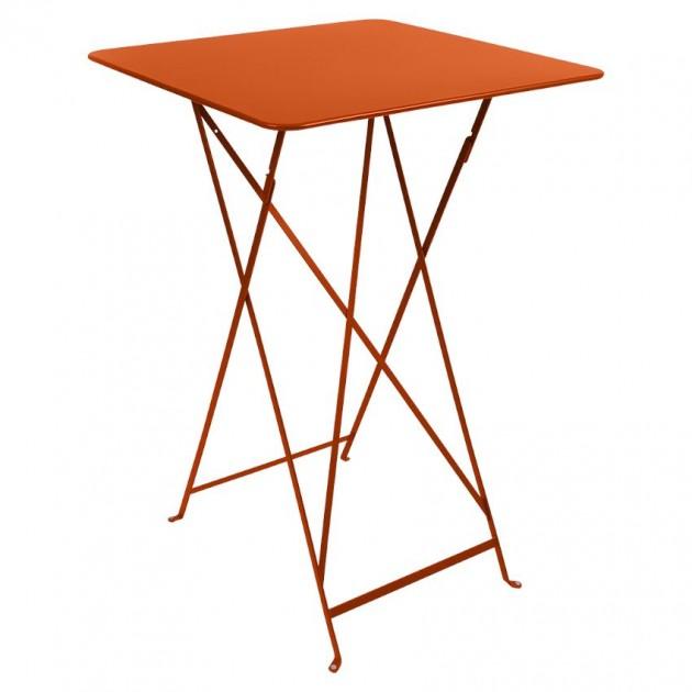 На фото: Барний стіл Bistro 0250 Carrot (025027), Барні столи Fermob, каталог, ціна
