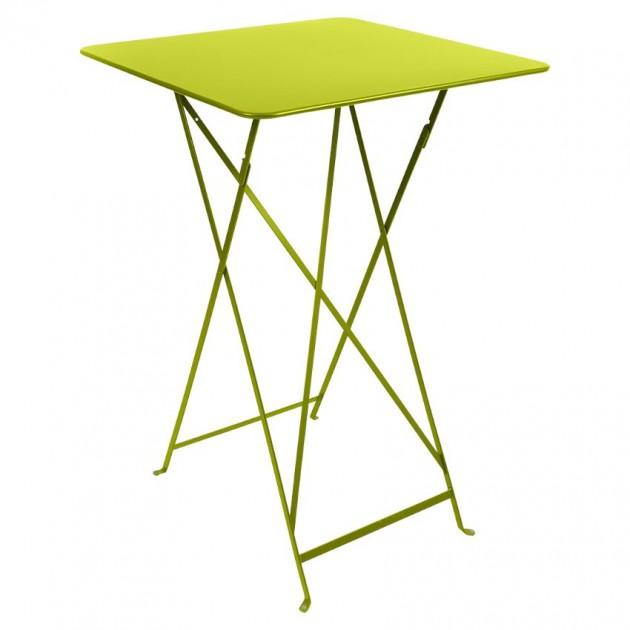 На фото: Барний стіл Bistro 0250 Verbena (025029), Барний стіл Bistro Fermob, каталог, ціна