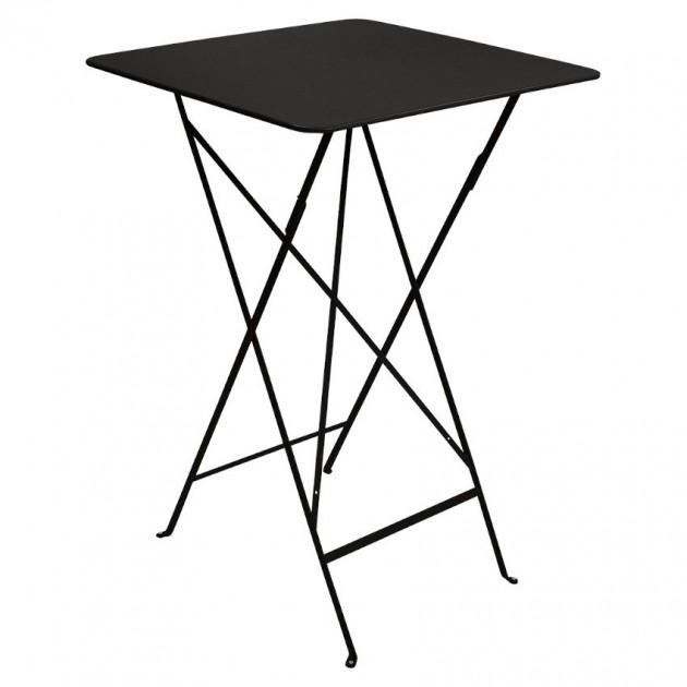 На фото: Барний стіл Bistro 0250 Liquorice (025042), Барний стіл Bistro Fermob, каталог, ціна