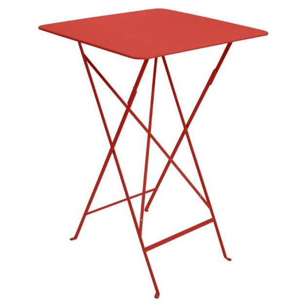 На фото: Барний стіл Bistro 0250 Capucine (025045), Барні столи Fermob, каталог, ціна