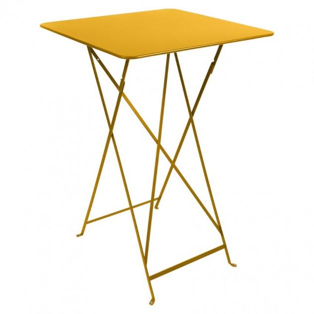 На фото: Барний стіл Bistro 0250 Honey (025073), Барні столи Fermob, каталог, ціна