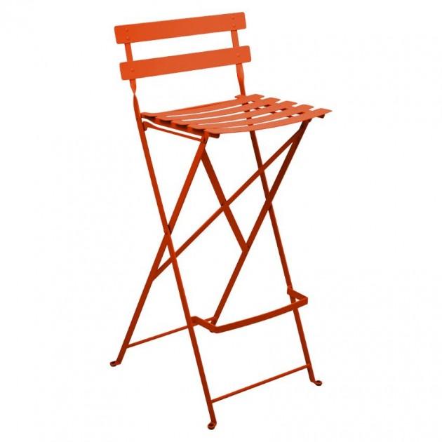 На фото: Барний стілець Bistro Carrot (511327), Барні стільці Fermob, каталог, ціна
