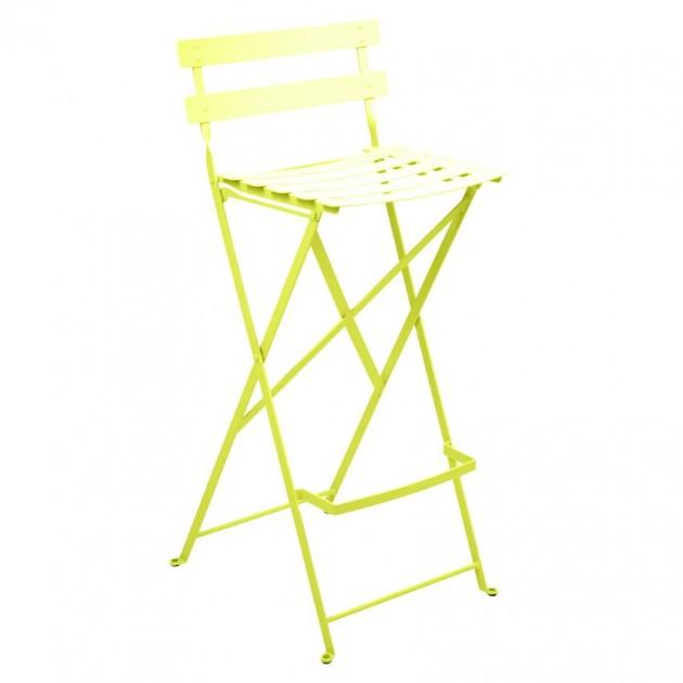 На фото: Барний стілець Bistro Verbena (511329), Барний стілець Bistro Fermob, каталог, ціна