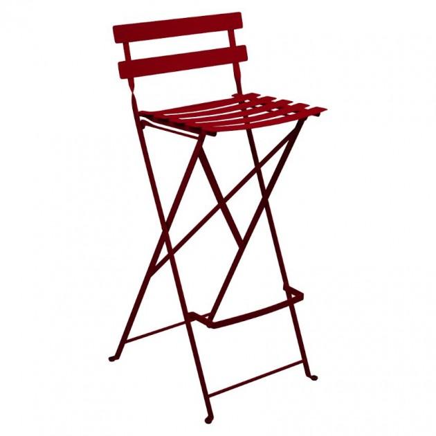 На фото: Барний стілець Bistro Chili (511343), Барні стільці Fermob, каталог, ціна
